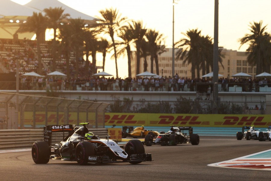 Motor Racing - Formula One World Championship - Abu Dhabi Grand Prix - Race Day - Abu Dhabi, UAE
