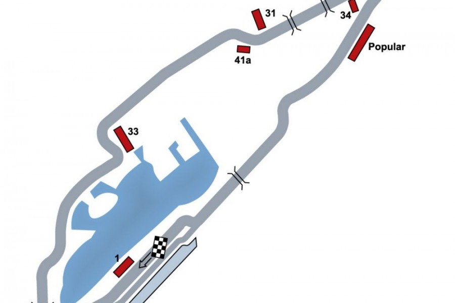 Canada GP map